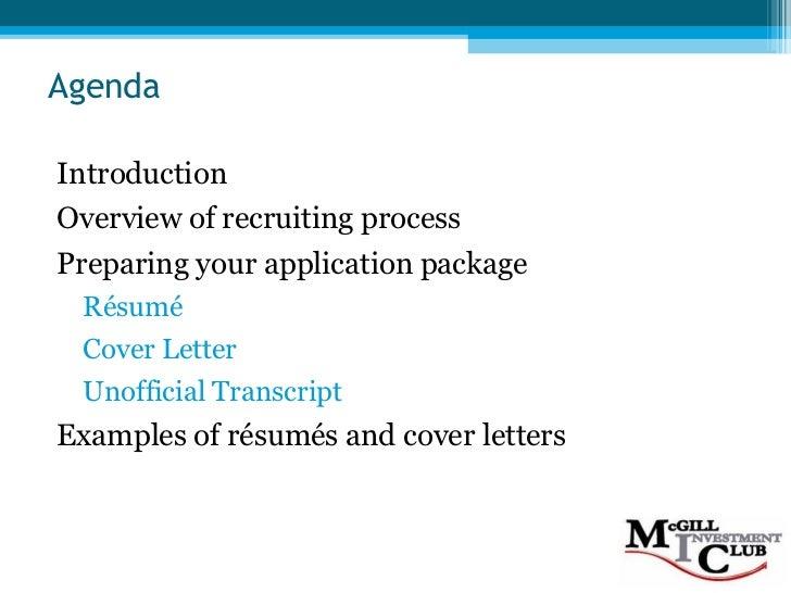 Resume & Cover Letter Workshop (F08