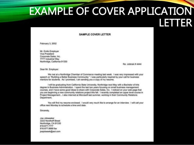 How to write a good application letter  Template for Writing Personalized Cover Letters