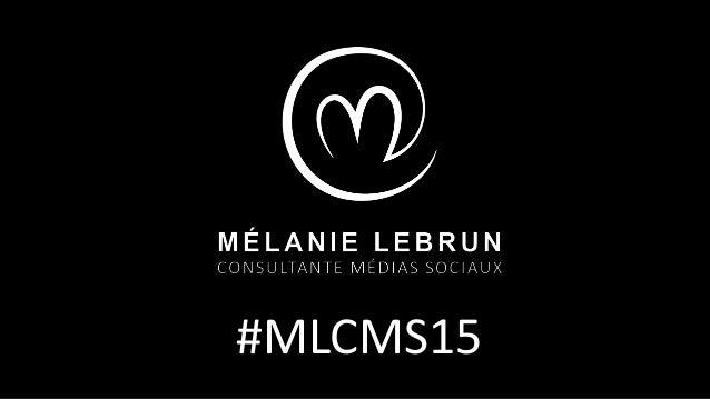 #MLCMS15