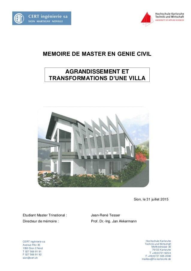 CERT ingénierie sa Avenue Ritz 35 1950 Sion 2 Nord T 027 566 91 91 F 027 566 91 92 sion@cert.ch Hochschule Karlsruhe Techn...