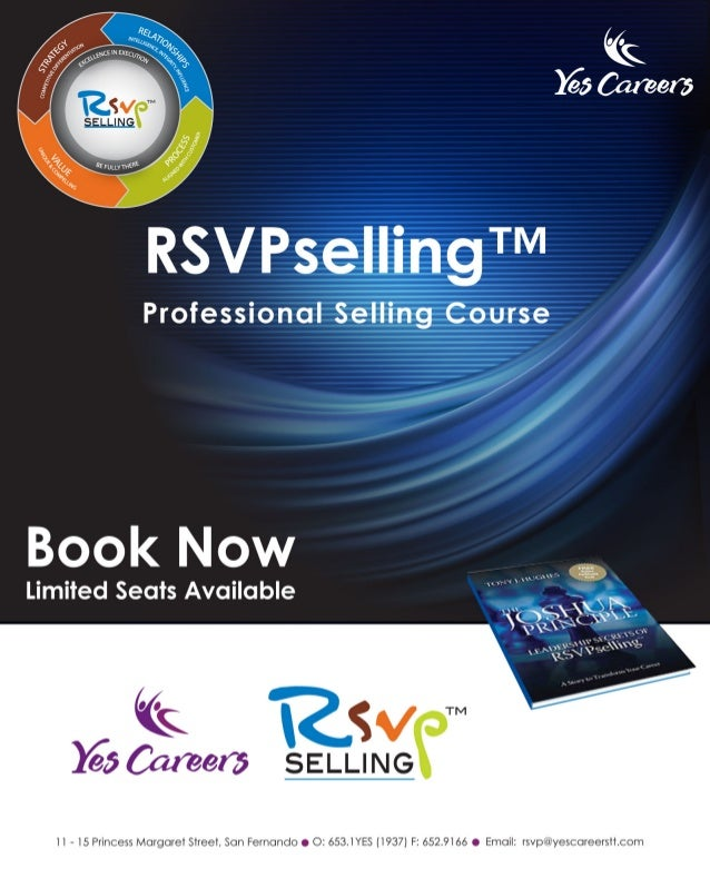 RSVPselling™  Yes Careers Limited