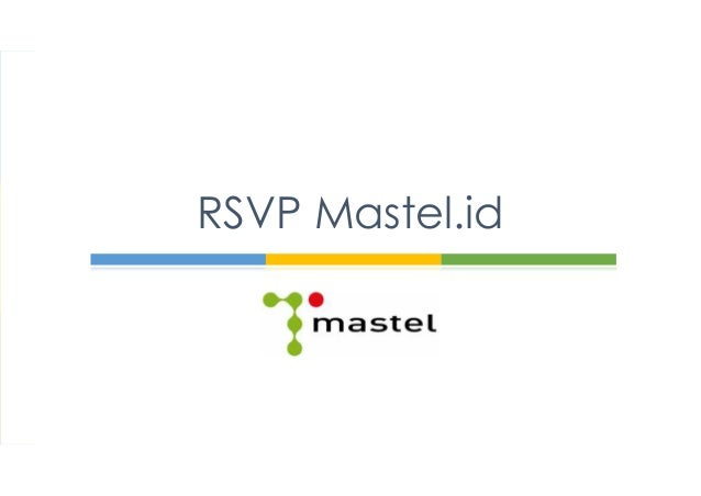 RSVP Mastel.id