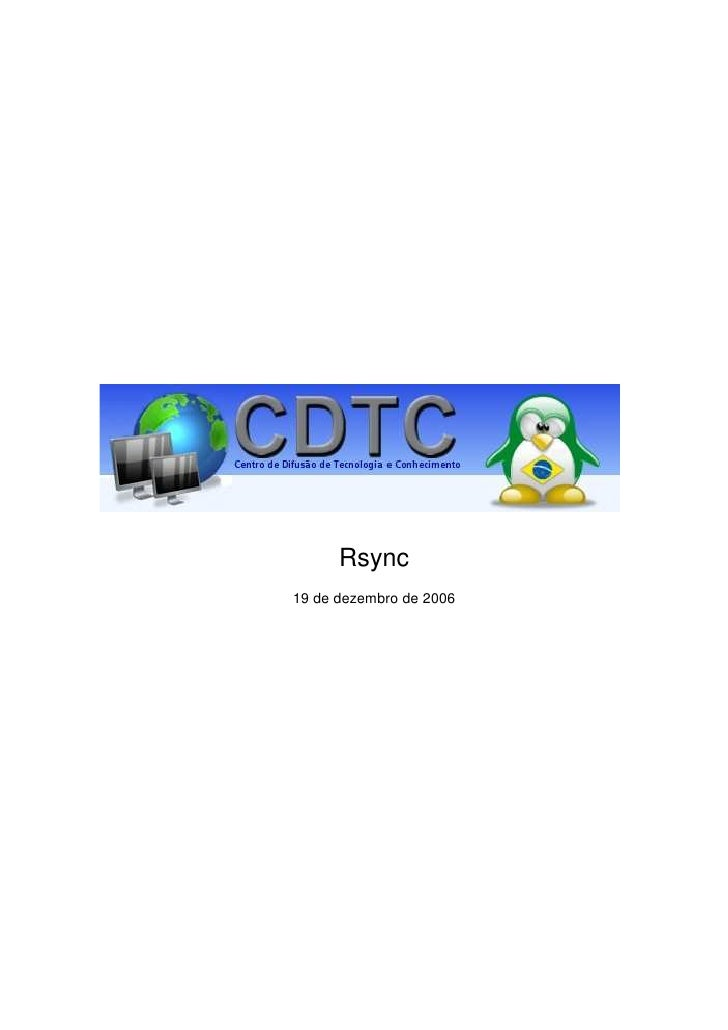 Rsync 19 de dezembro de 2006