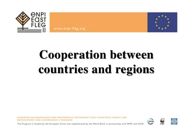 Cooperation between countries and regions