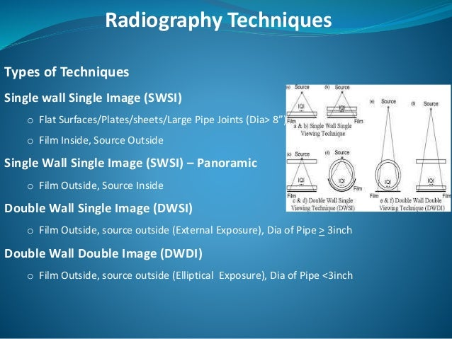 Radiography Testing Presentation