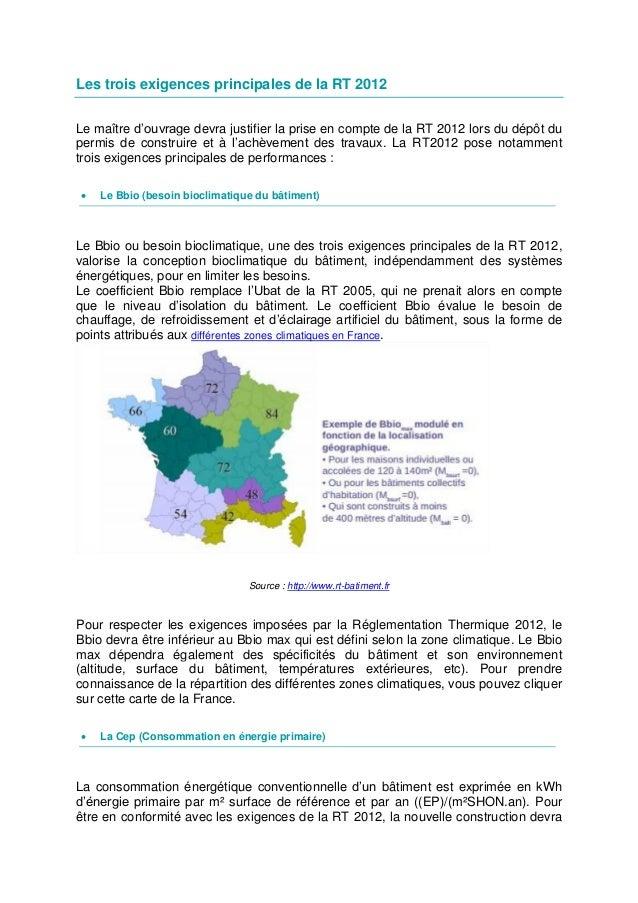 Rt 2012 Obligations Et Demarches De La Nouvelle Reglementation Ther