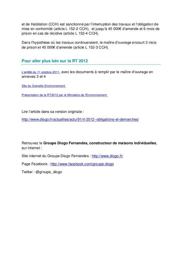 rt 2012 obligations et d marches de la nouvelle r glementation ther. Black Bedroom Furniture Sets. Home Design Ideas