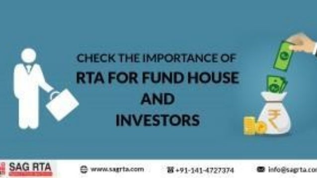 Recommended Articles ★ Check the Importance of RTA For Fund House and Investors ★ Registrar and Share Transfer Agent - A S...