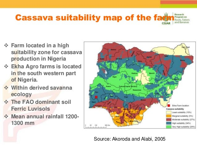 Spatial Variability Of Soil Organic Carbon In A Cassava Farm Nigeria - Where is nigeria located