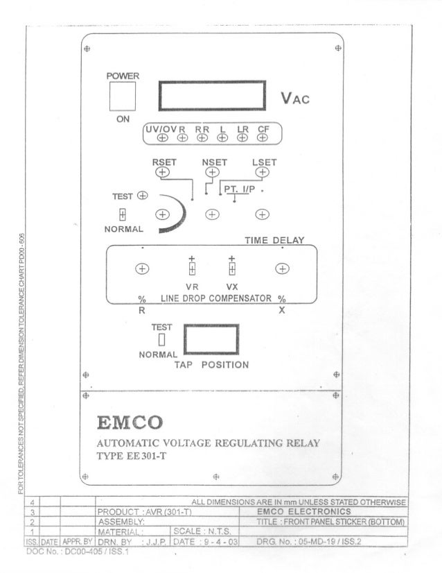 delta 3 phase panel wiring diagram rtcc & avr