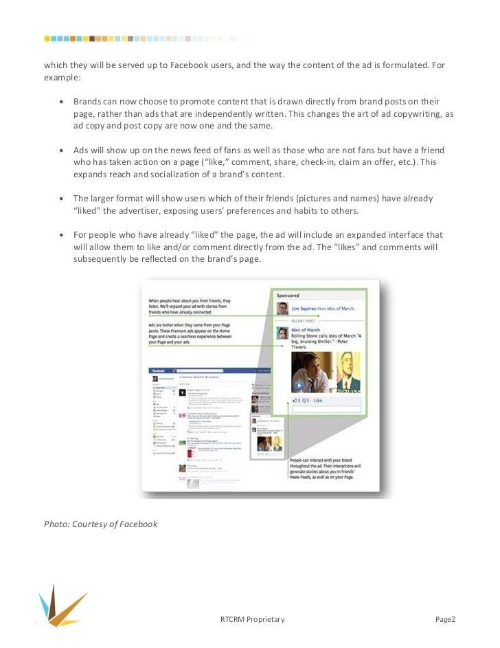 RTC POVs: Premium Facebook Ads (General Audience)