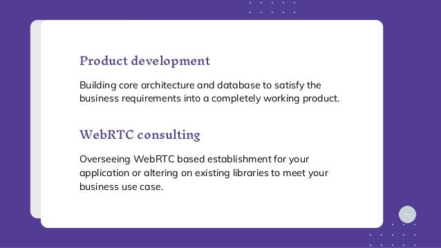 Product development Building core architecture and database to satisfy the business requirements into a completely working...