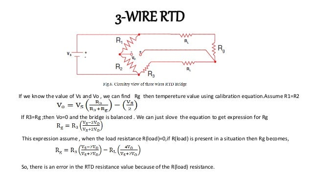 3 Wire Rtd Bridge on 3 wire rtd lead balance