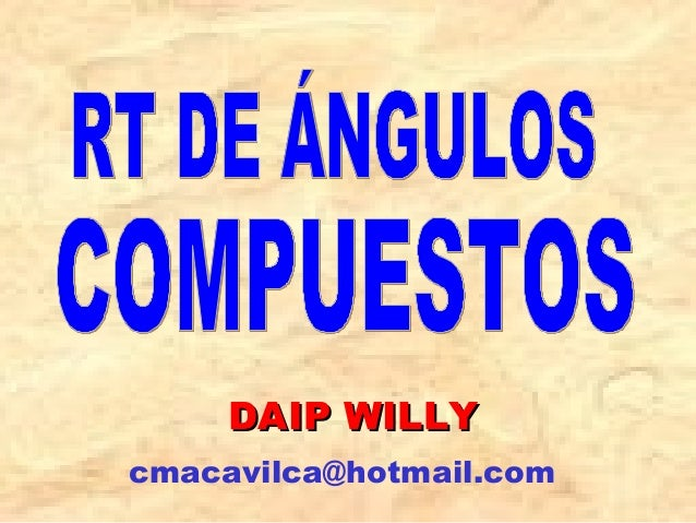 DAIP WILLYDAIP WILLY cmacavilca@hotmail.com