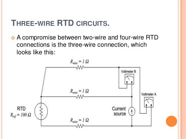 Wiring Diagram For 3 Wire Rtd The wiring diagram – Rtd Standard Wiring Diagram
