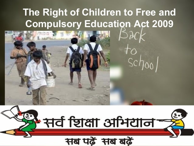 Right To Education Act Pdf