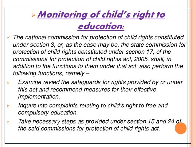 rte right to education in india Right of children to free and compulsory education act provides for free and  compulsory  this is was a historic day for the people of india as from this day  the.