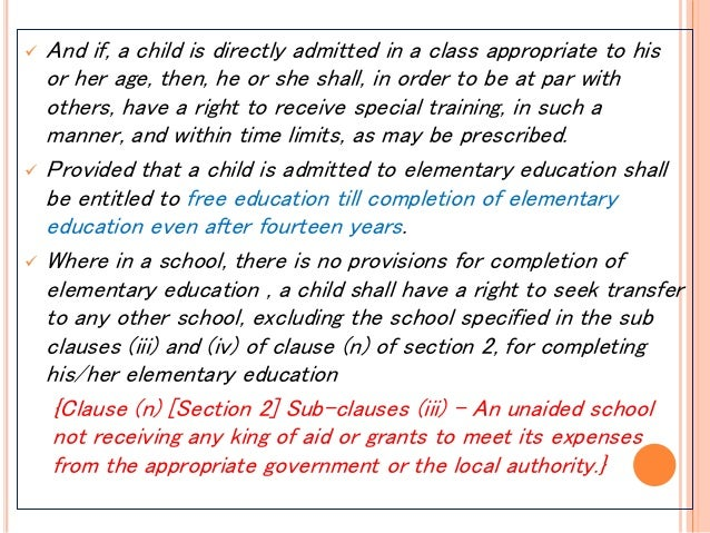 rte right to education in india The indian government passed the right to education (rte) act in 2009 it made  free, compulsory education the right of every child aged 6-14 in addition, the.