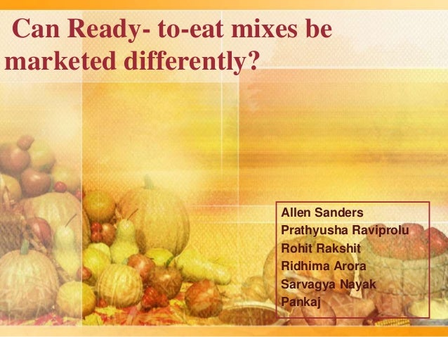 market share of mtr ready to eat food market So far this year, the size of the ready-to-cook market stands at rs  in this market  are mtr with 26 percent market share, itc with 22 percent,.