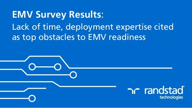 EMV Survey Results: Lack of time, deployment expertise cited as top obstacles to EMV readiness