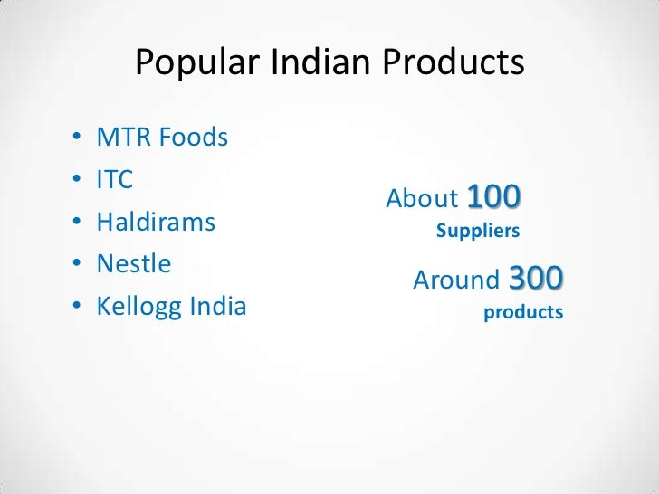 RTE foods opening up the Indian market for Synthite