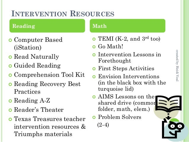 Response to intervention | moving with math rti math leader.