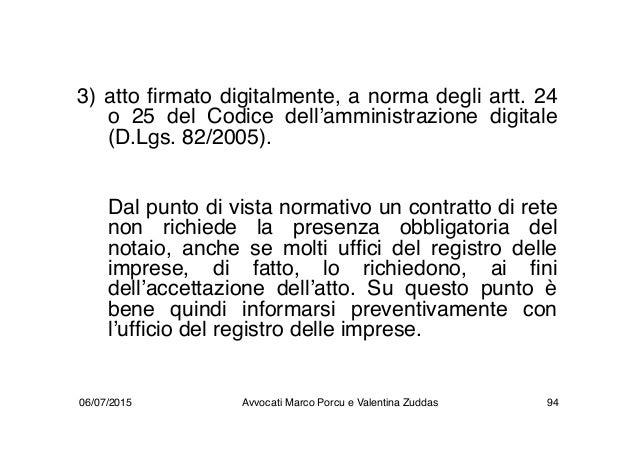 3) atto firmato digitalmente, a norma degli artt. 24 o 25 del Codice dell'amministrazione digitale (D.Lgs. 82/2005). Dal p...
