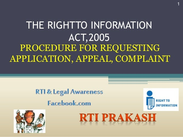 disadvantages of right to information act 2005 Indian railways and right to information act right to information act the right to information (rti) act is a law enacted by the parliament of india to provide for setting out the practical regime of right.