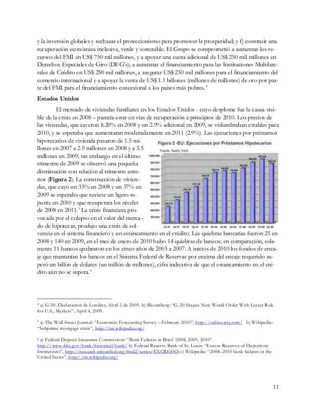 11 y la inversión globales y rechazar el proteccionismo para promover la prosperidad; y f) construir una recuperación econ...