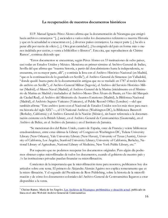 17 Uno de los protagonistas de este proceso de microfilmación del AGCA, el Profesor Emérito John D. Browning ya publicó en...