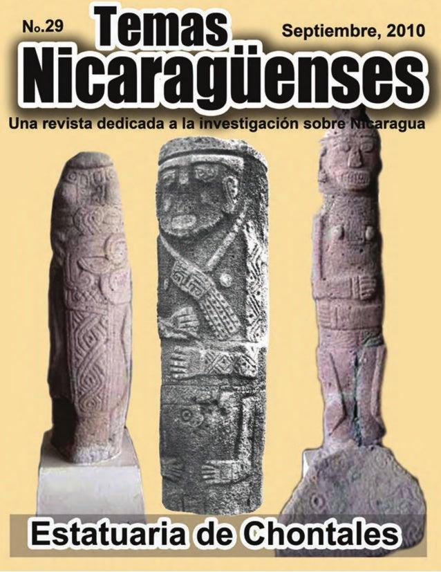 PORTADA La estatuaria de Chontales Las ilustraciones de la portada, de izquierda a derecha son: Figura 1: El pequeño anima...