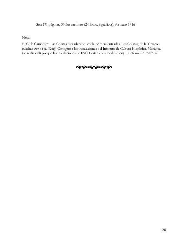Chontales: What's in a name? i Por Laura N. K. Van Broekhoven Reproducido con autorización de la autora de Van Broekhoven,...