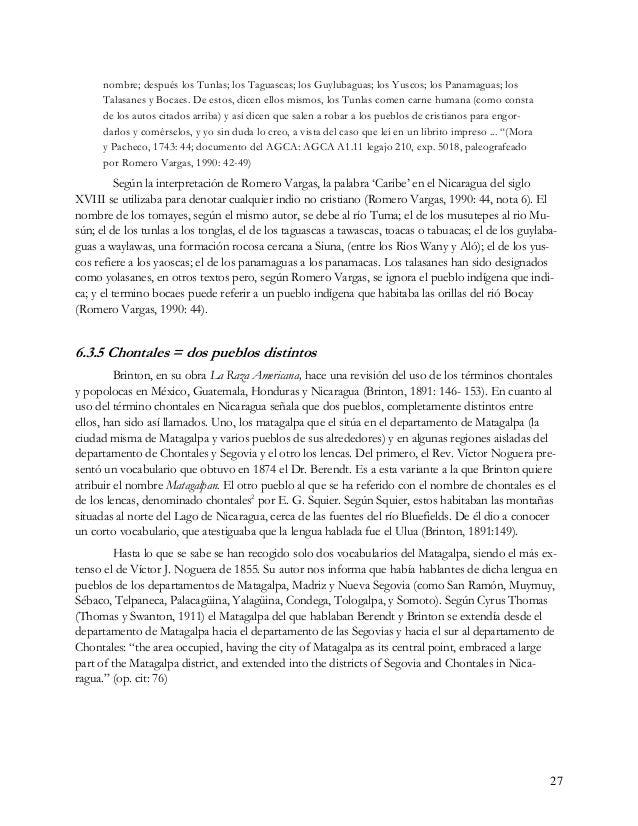 6.3.6 Chantal= Única familia Guerrero no esta del todo de acuerdo con la división que Squier y Brinton propusieron, ya que...