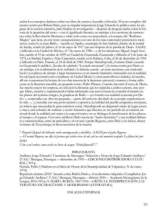 22 http://es.wikipedia.org/wiki/Alejo_Carpentier http://es.wikipedia.org/wiki/Juan_Rulfo http://es.wikipedia.org/wiki/Migu...
