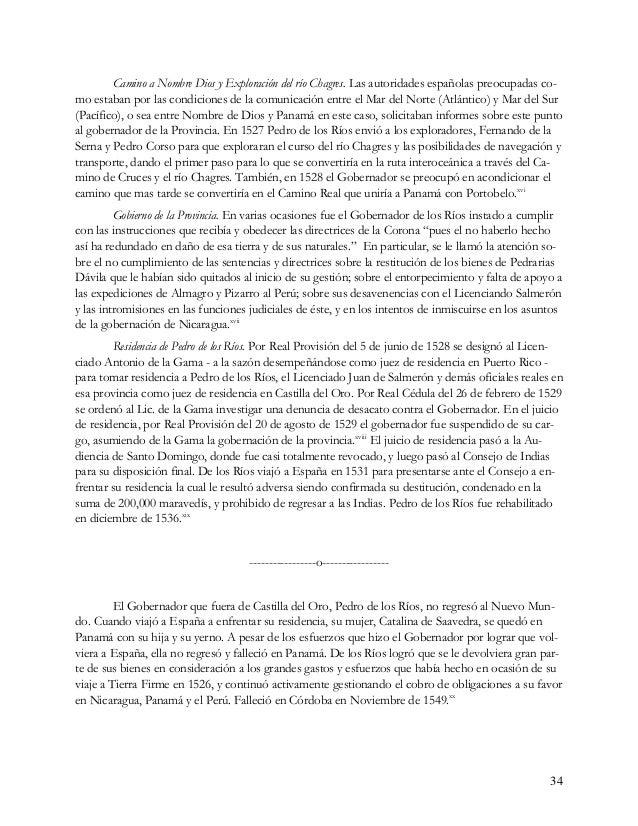 35 Pedro de los Ríos, el Tesorero Este Pedro de los Ríos nació en Córdoba en 1505, sus padres fueron Alonso de los Ríos y ...