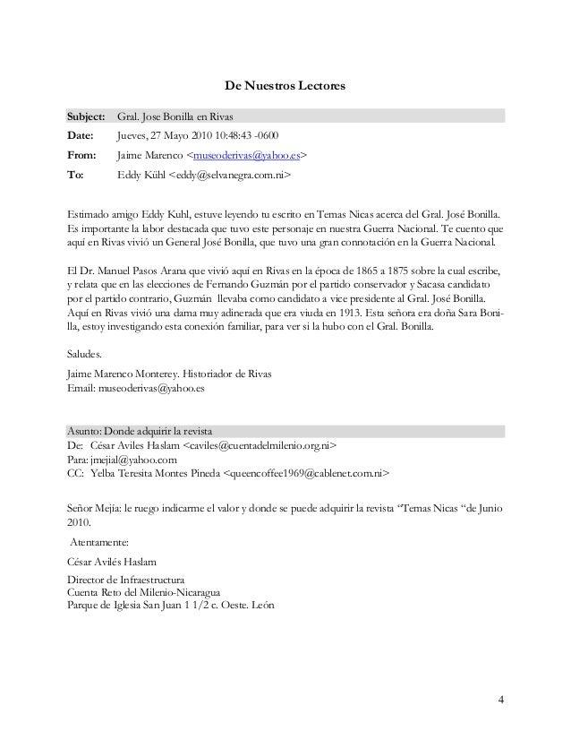 5 Subject: Revista Temas Nicaragüenses Date: Thu, 3 Jun 2010 14:12:42 -0700 (PDT) From: Fernando Javier Vega Ramírez <vega...