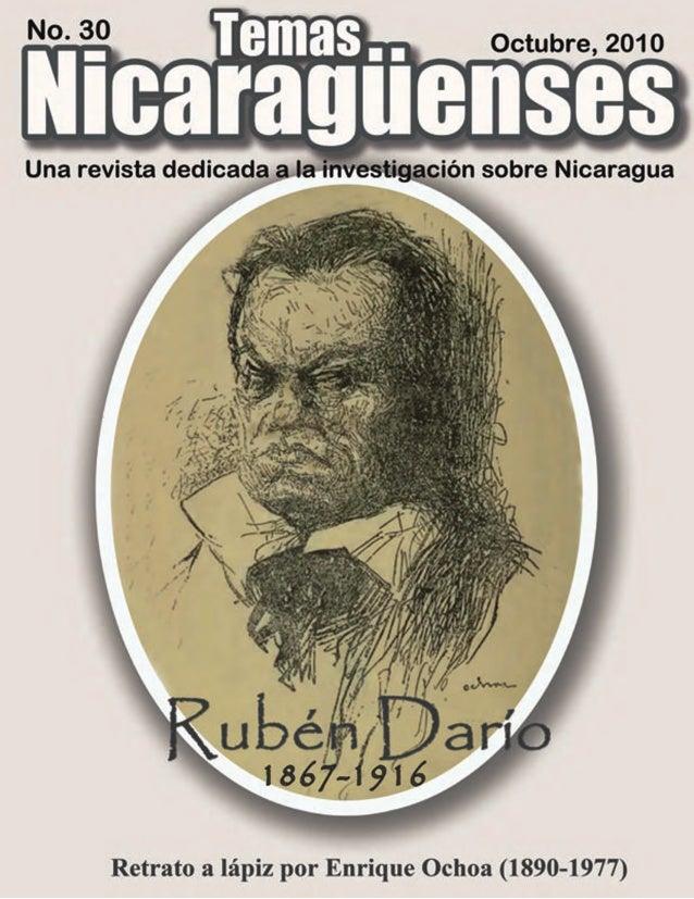 PORTADA Retratos a lápiz y hablados de Rubén Darío Hay muchos retratos de Rubén Darío que muestran un personaje idealizado...