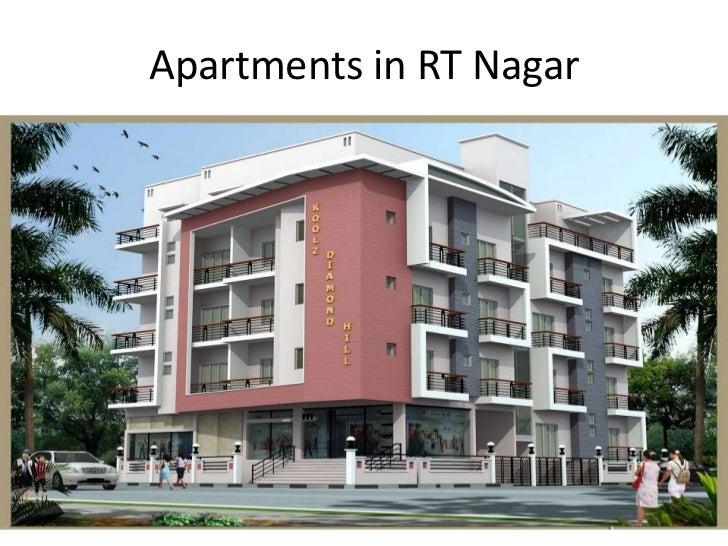 Apartments in RT Nagar