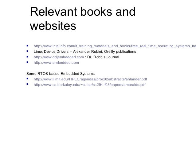 real time embedded systems book pdf