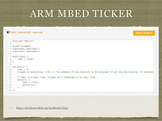 Rtos on arm cortex m platform draft