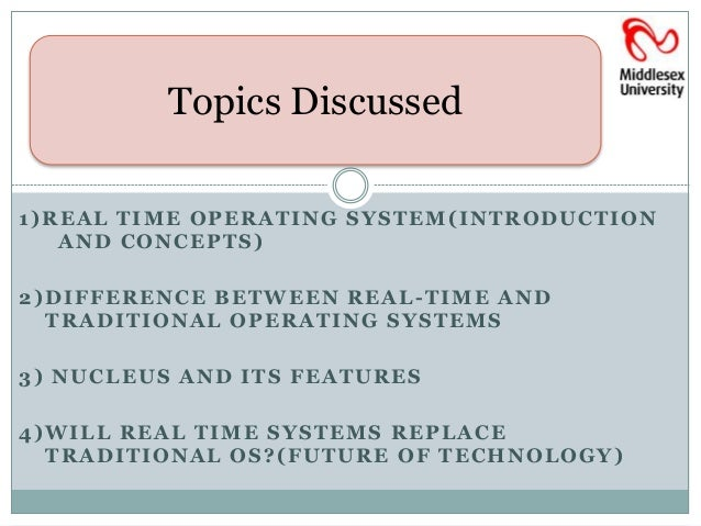 real time operating system thesis List of project topics cs 551: distributed operating systems list because timing is very critical with real-time systems a next generation multiprocessor real-time operating system (rtos.