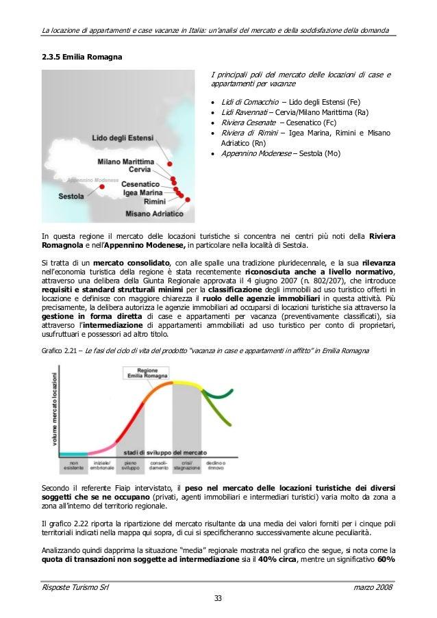 La locazione di appartamenti e case vacanze in italia un for Case in vendita riviera romagnola