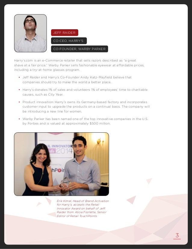 2014 Retail Innovator Awards Report Slide 3