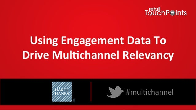 Using Engagement Data To Drive Mul4channel Relevancy #mul%channel Webinar Sponsored by