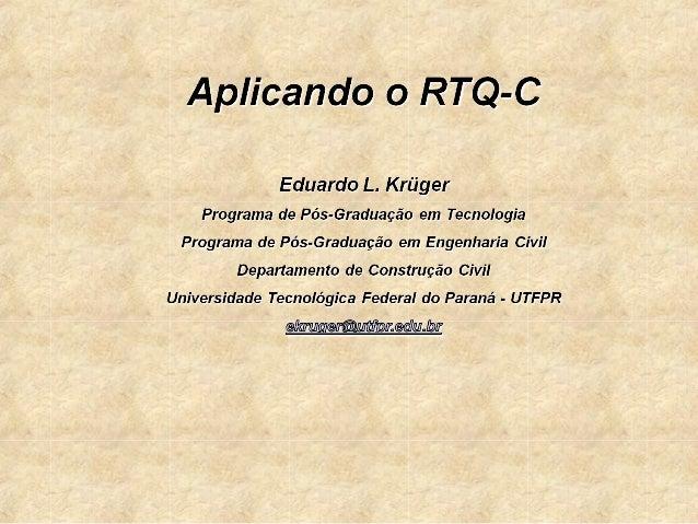 ITENS AVALIADOSO RTQ-C fornece uma classificação de edifícios através dadeterminação da eficiência de três sistemas: Envo...
