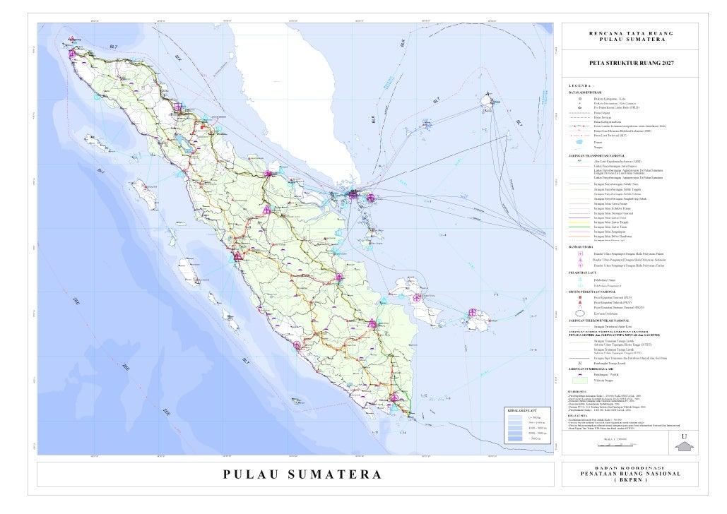 Rencana Tata Ruang Pulau Sumatera - Rencana Pola Ruang