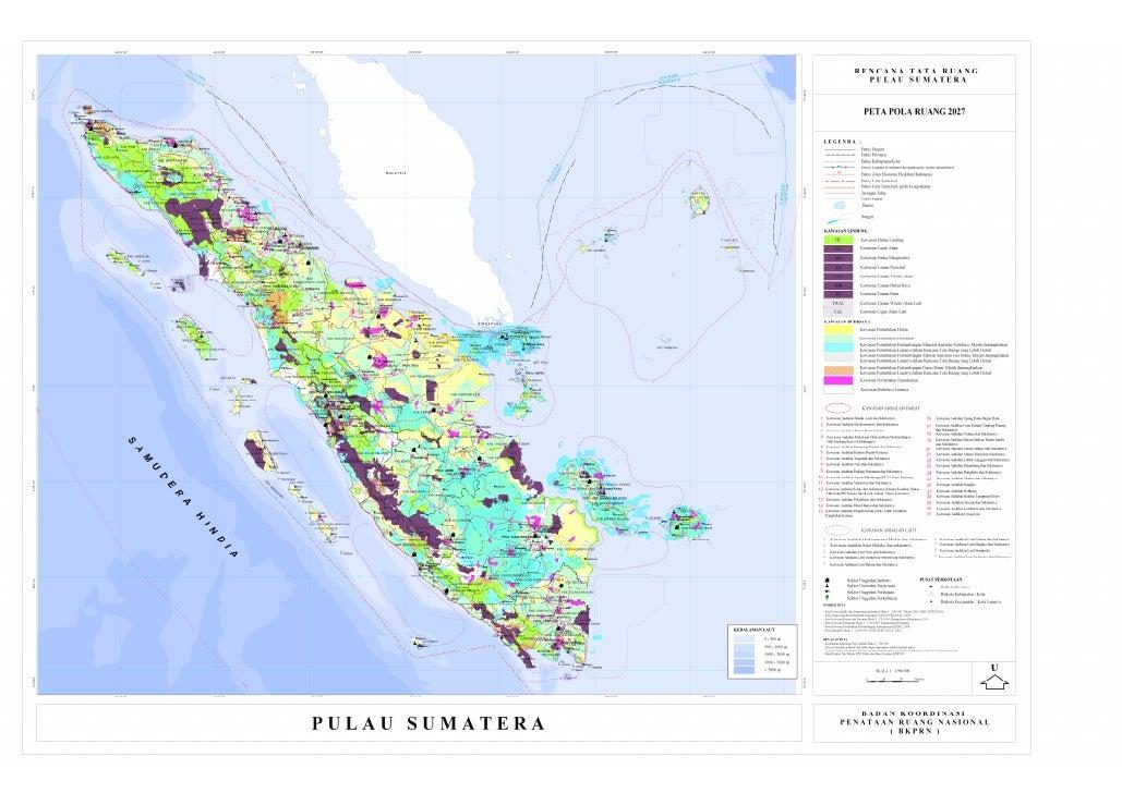 Rencana Tata Ruang Pulau Sumatera - Rencana Struktur Ruang