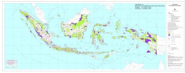 Rencana Pola Ruang dalam Rencana Tata Ruang Wilayah Nasional