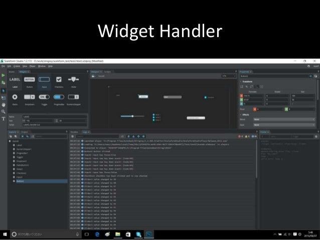 Widget Handler
