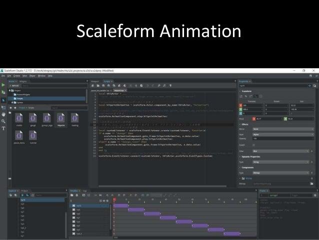 Scaleform Animation